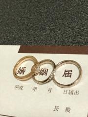 【TANZO(タンゾウ)の口コミ】 鍛造製法でS字のデザインを施したかったこと。かつダイヤを入れたり、好み…