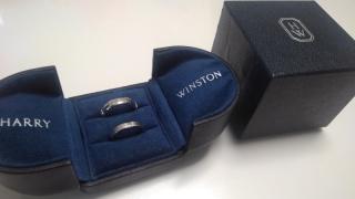 【ハリー・ウィンストン(Harry Winston)の口コミ】 夫婦間で「婚約指輪を買わない代わりに結婚指輪に予算を上乗せしよう」と…