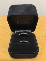 【ティファニー(Tiffany & Co.)の口コミ】 シンプルさと、着け心地の良さです。 内側が着脱しやすい加工になっている…