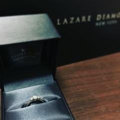 【ラザール ダイヤモンド(LAZARE DIAMOND)の口コミ】 ピンクゴールドが欲しいなと思いながら お店に行きましたが‥色々と試着さ…