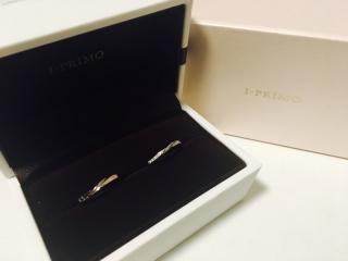 【アイプリモ(I-PRIMO)の口コミ】 サービス業をしている主人の職場は、仕事中も結婚指輪を付けていることがで…