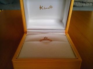 【ケイウノ ブライダル(K.UNO BRIDAL)の口コミ】 ゼクシィでマルテッラートの小枝のようなデザインの結婚指輪を見て、これ…