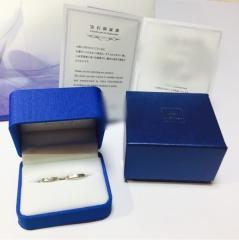 【ガラOKACHIMACHIの口コミ】 結婚指輪は一生物なので、現在の私達だけではなく、歳を重ねた私達の手にも…