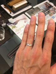 【JEWELRY  KAMATA(ジュエリーかまた)の口コミ】 シンプルな指輪をお探しの方にはぴったりだと思います。 ただシンプルなだ…