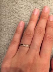 【CHER LUV(シェールラブ)の口コミ】 色んな指輪を見てきましたが、この指輪をみた瞬間他にはないかわいいデザ…