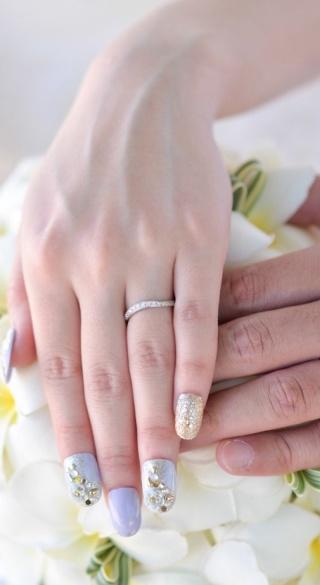 【ラザール ダイヤモンド(LAZARE DIAMOND)の口コミ】 一目惚れでした。仕事中にも着用出来るようにと、当初はシンプルなものを…
