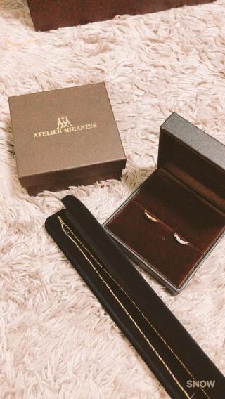 【アトリエミラネーゼの口コミ】 お店へ行く前までは2人で指輪の欲しいデザインが全く一致していなかった…