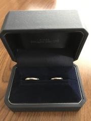 【銀座ダイヤモンドシライシの口コミ】 シンプルなデザインの指輪を探していたので、ブランドにはこだわりがなか…