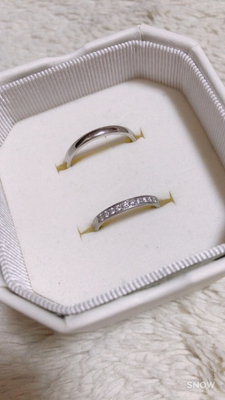 【4℃(ヨンドシー)の口コミ】 仕事中は指輪の着用が出来ないため、着用の機会が少ないのでなるべく華や…