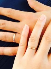 【SIENAROSE(シエナロゼ)の口コミ】 私の結婚指輪へのこだわりは、シンプルなこと・それでいてあまり見かけな…