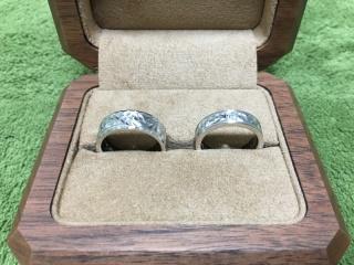 【Makana(マカナ)の口コミ】 ハワイが好きなので、ハワイアンジュエリーでの結婚指輪を探していたとこ…