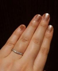 【ROYAL ASSCHER(ロイヤル・アッシャー)の口コミ】 婚約指輪は使用頻度が少なそうなので購入せず、結婚指輪を豪華にすることに…