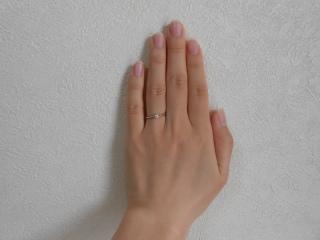 【ヴァンドーム青山(Vendome Aoyama)の口コミ】 婚約指輪はもともと購入する予定ではありませんでしたが、主人が形だけで…