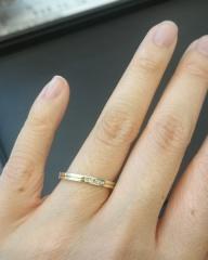 【JEWELRY  KAMATA(ジュエリーかまた)の口コミ】 何店舗もまわり探しましたが、全てが自分の気に入った指輪が見つからず、友…