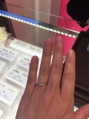 【JEWELRY  KAMATA(ジュエリーかまた)の口コミ】 指輪の素材をプラチナ、シルバー、ゴールド、ピンクゴールド等自分の好き…