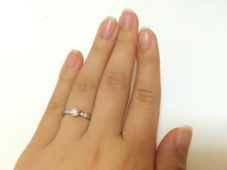 【ラザール ダイヤモンド(LAZARE DIAMOND)の口コミ】 世界三大カッターズブランドだけあって、ダイヤモンドの輝きが他ブランドよ…