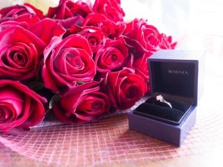 【俄(にわか)の口コミ】 実は婚約指輪に関しては旦那からのサプライズだったので、自分で選ぶという…