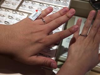 【アイプリモ(I-PRIMO)の口コミ】 シンプルなデザインでした。 普段指輪を付けることが全くありませんでした…