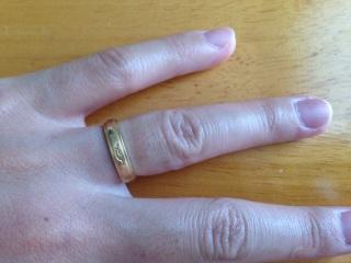 【AtelierSoeta(アトリエソエタ)の口コミ】 結婚前につけていたペアリングも手作りだった為、  最初から店舗で買うこ…
