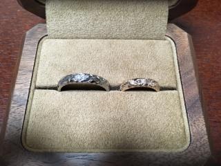 【Makana(マカナ)の口コミ】 婚約指輪は彼女の憧れのマカナにしたので、結婚指輪もマカナに決めていま…