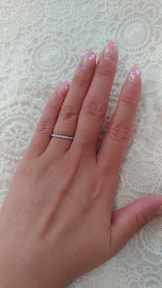 【アイプリモ(I-PRIMO)の口コミ】 結婚指輪も婚約指輪もアイプリモで揃えました。 それらに重ねられるハーフ…
