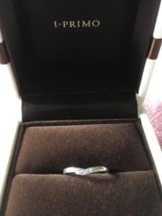【アイプリモ(I-PRIMO)の口コミ】 希望のデザインと価格に納得したからです。結婚指輪は普段から身に付けよう…