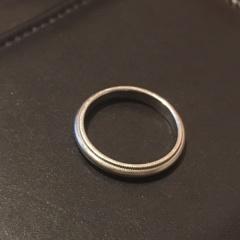 【ティファニー(Tiffany & Co.)の口コミ】 いくつかのブランドを見に行きましたが、なかなかこれという指輪に出会えま…