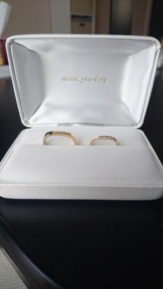【mina.jewelry(ミナジュエリー)の口コミ】 人と被らない、それでいて奇抜すぎないデザインの指輪を探していました。ま…