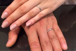 【俄(にわか)の口コミ】 インターネットで結婚指輪を見ているなか、俄のせせらぎを見て男ながら一目…