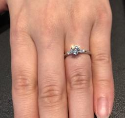 【エクセルコダイヤモンド(EXELCO DIAMOND)の口コミ】 ダイヤモンドの美しさはもちろんのこと、技術や品質へのこだわりが店員さん…