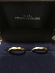 【銀座ダイヤモンドシライシの口コミ】 シンプルな物を探していました。エヴァーアフターはデザインが凝っていなが…