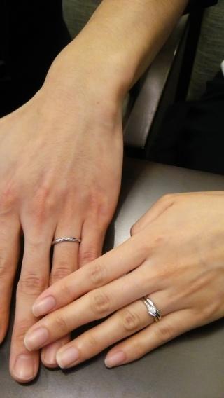 【LUCIE(ルシエ)の口コミ】 可愛くてシンプルな指輪を探していて、店員さんに一緒に丁寧に探していただ…