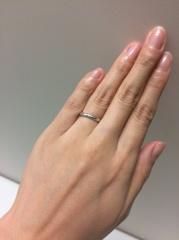 【Jupiter BLANTELIE(ジュピターブラントリエ)の口コミ】 ダイヤがリング上にたくさん並んでいて、キラキラ光る指輪や、かといって…