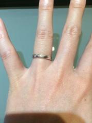 【杢目金屋(もくめがねや)の口コミ】 フルオーダーで世界にひとつだけの結婚指輪が作れることが魅力的でした。 …