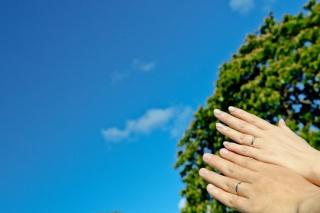 【アイプリモ(I-PRIMO)の口コミ】 アイプリモの婚約指輪をサプライズで主人からいただいたため、結婚指輪もア…
