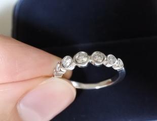 【ティファニー(Tiffany & Co.)の口コミ】 婚約指輪の定番といえば一粒ダイヤで、素敵なデザインものもがたくさんあ…