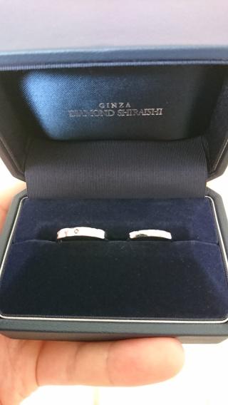 【銀座ダイヤモンドシライシの口コミ】 たくさんの選択肢から一つ一つ試していくセミオーダーメイドでの指輪で初…