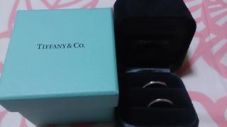 【ティファニー(Tiffany & Co.)の口コミ】 シンプルなデザインのリングを探していたので、シンプルで飽きのこないデ…