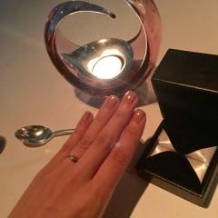 【エクセルコダイヤモンド(EXELCO DIAMOND)の口コミ】 ハイブランドの指輪に比べるとダイヤモンドの質を上げても安価で購入でき…