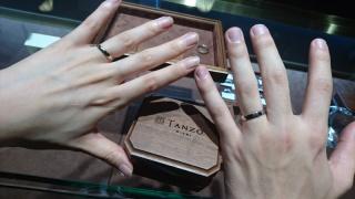【TANZO(タンゾウ)の口コミ】 入籍指輪は画期的でした!手が汚れる仕事をしていたため、結婚指輪をはめて…