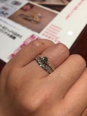 【JEWELRY  KAMATA(ジュエリーかまた)の口コミ】 いろんなブランドの指輪を見て回っていましたが、これと言った決め手がなく…