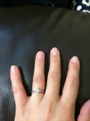 【アイプリモ(I-PRIMO)の口コミ】 どのデザインもかわいくて本当に迷ったのですが、最終的に指輪は主人がえら…