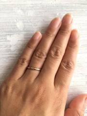 【ith(イズ)の口コミ】 既製品ではなくオーダーメイドで自分たちらしい指輪を作りたかったので、…