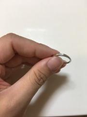 【俄(にわか)の口コミ】 結婚指輪は有名ブランドではなく、手頃かつデザインの良いものを重視してい…