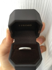 【アイプリモ(I-PRIMO)の口コミ】 婚約指輪がアイプリモのものだったので、結婚指輪もアイプリモにしようと思…