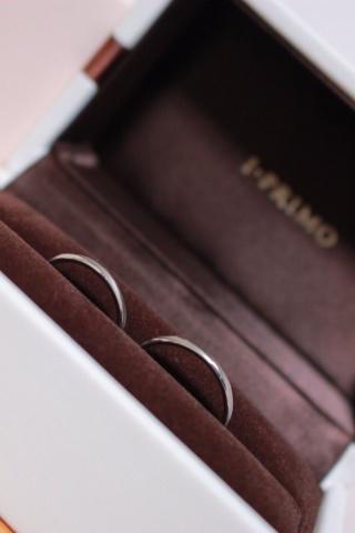 【アイプリモ(I-PRIMO)の口コミ】 私が結婚指輪に求めたこだわりはふたつ!  一つ目は、「細いデザイン」で…