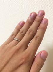 【銀座ダイヤモンドシライシの口コミ】 仕事や遊び等の日常においても指輪をつけていたかった。その場合、指輪が傷…