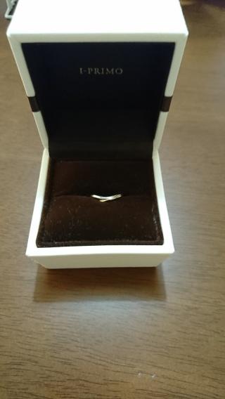 【アイプリモ(I-PRIMO)の口コミ】 主人が、結婚指輪は少しおしゃれなものを選びたいということで、こちらにし…