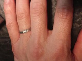 【市松の口コミ】 もともと、他のブランドはまったく考えておらず、職人メイドのこの指輪にし…