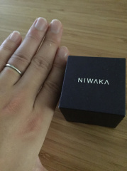 【俄(にわか)の口コミ】 俄の指輪にそれぞれ名前がついていて、名前にも意味があって付けられていた…